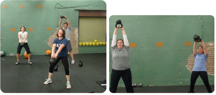 Workshop mit Kettlebells